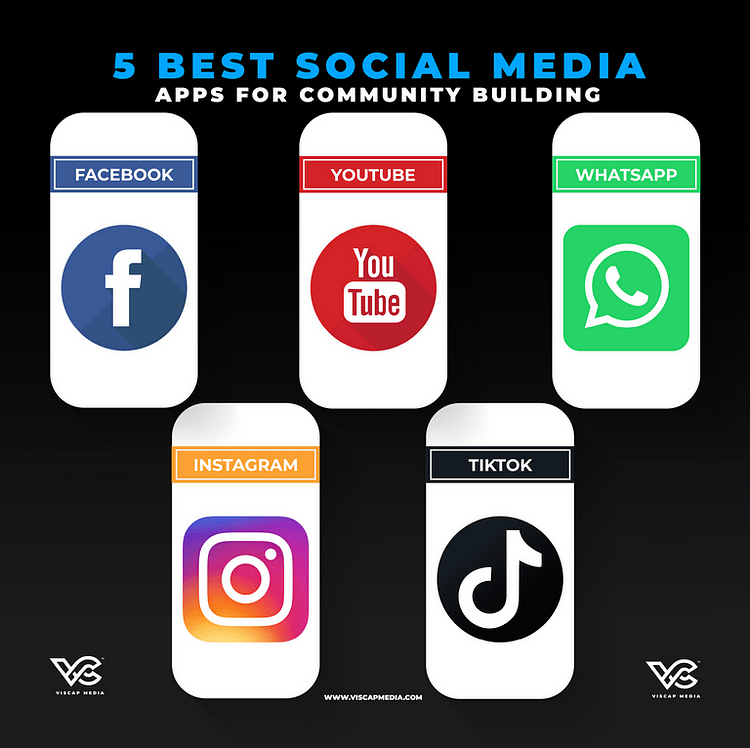 Top 5 Best Social Media Apps For Community Building