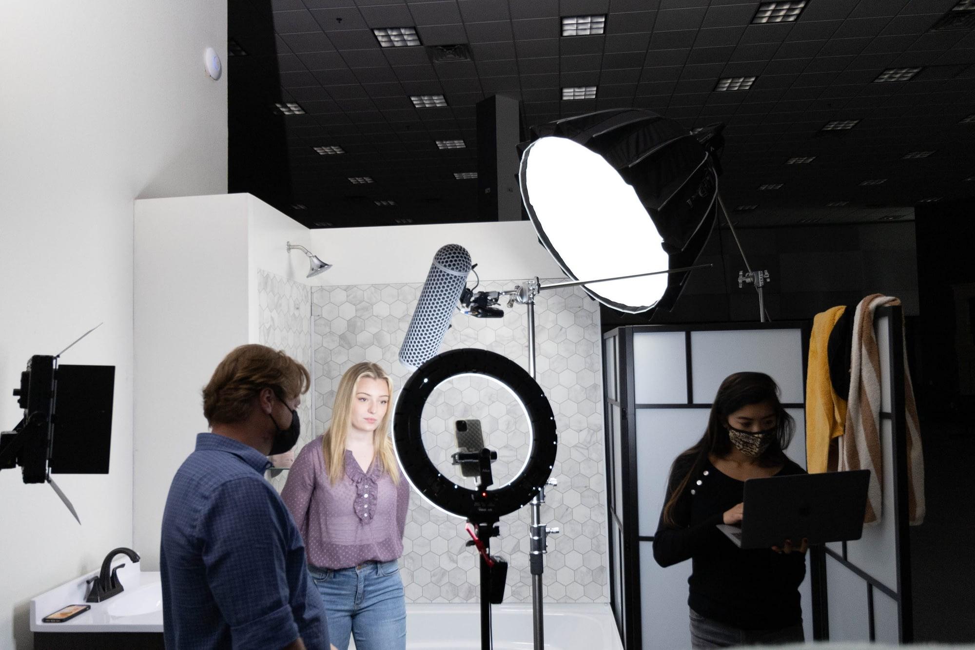 AI In Video Marketing BTS